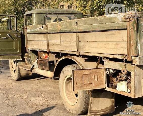Работник запорожского предприятия пытался вывезти цветной метал в тайнике, - ФОТО, фото-2
