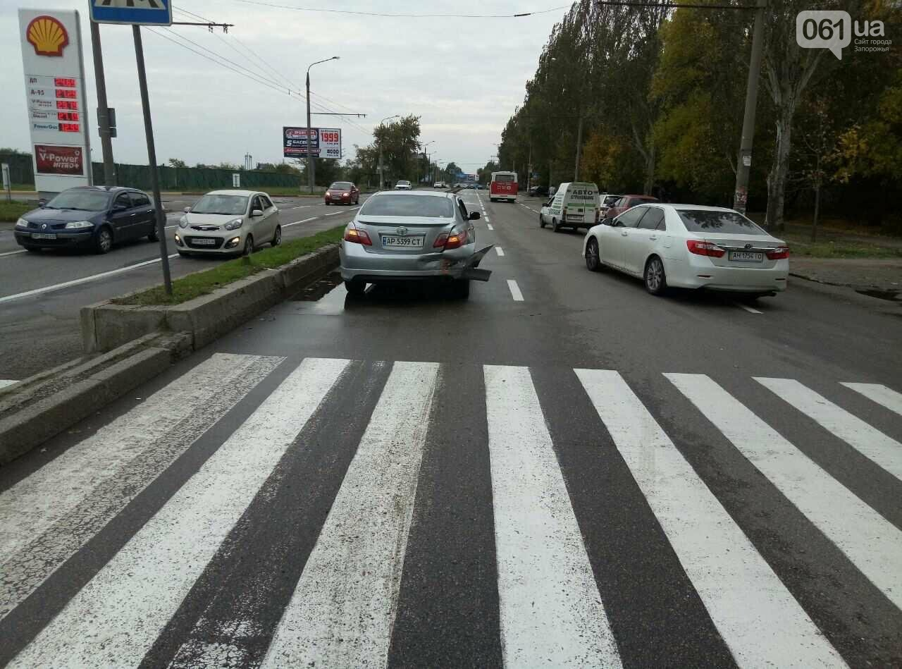 "В центре Запорожья ""Славута"" влетела в иномарку, - ФОТО, фото-1"