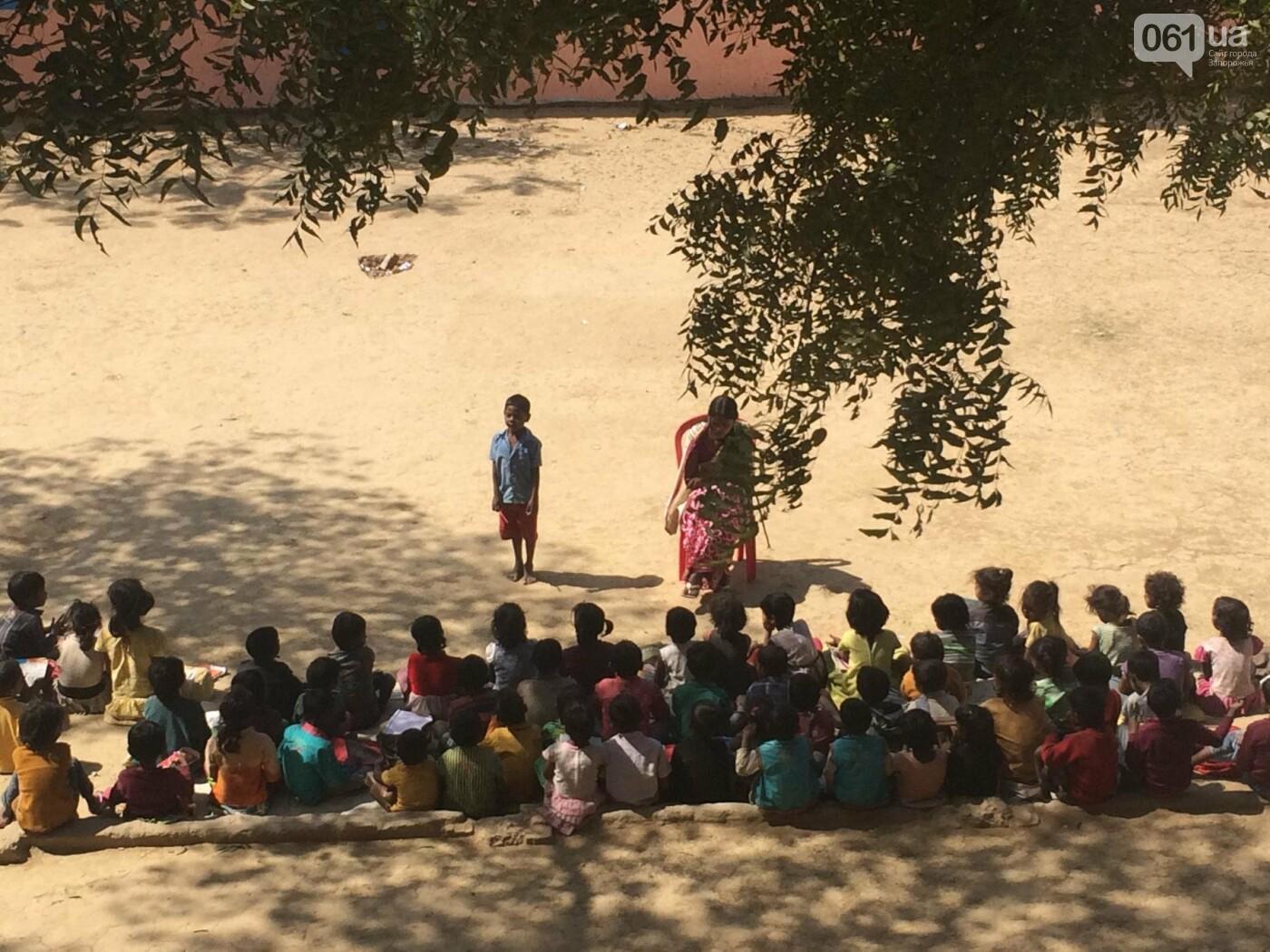 Как в индийских школах учатся дети из бедных семей: репортаж из Бодхгаи , - ФОТО , фото-16