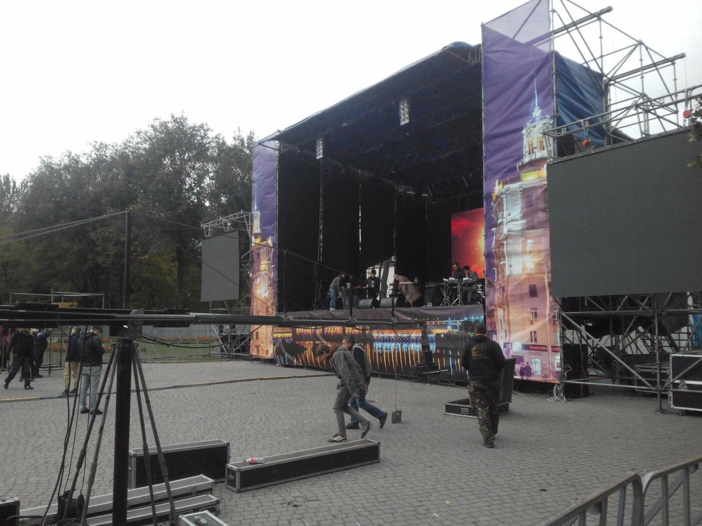 В парке Трудовой славы Onuka провела саундчек перед вечерним концертом, - ФОТО , фото-20