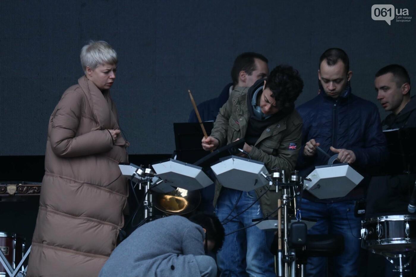В парке Трудовой славы Onuka провела саундчек перед вечерним концертом, - ФОТО , фото-9