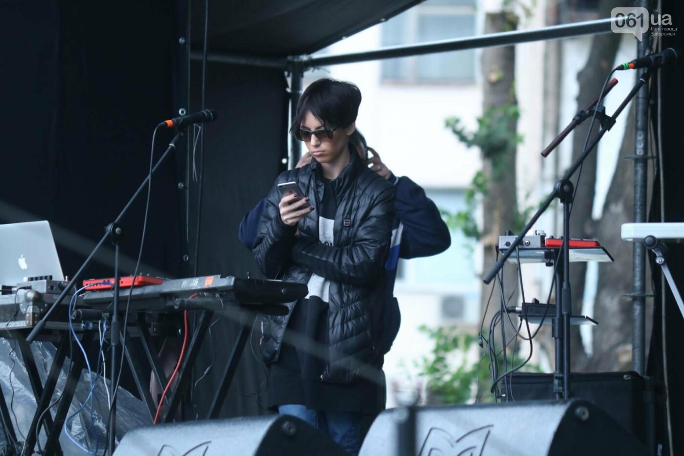 В парке Трудовой славы Onuka провела саундчек перед вечерним концертом, - ФОТО , фото-8