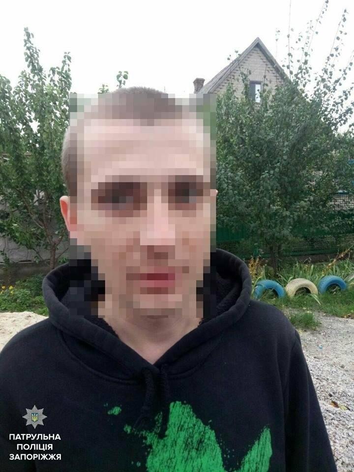 В Запорожье мужчина с ножом ограбил подростка, - ФОТО, фото-1