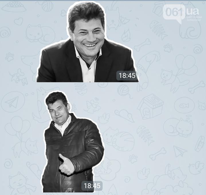 В Telegram появились стикеры с Буряком, Брылем, Сином и другими запорожскими политиками, - ФОТО , фото-6