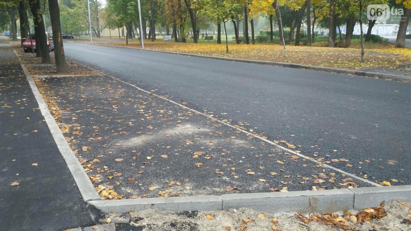 В Запорожье завершили реконструкцию улицы Южноукраинской: какие работы выполнили, – ФОТОРЕПОРТАЖ, фото-3