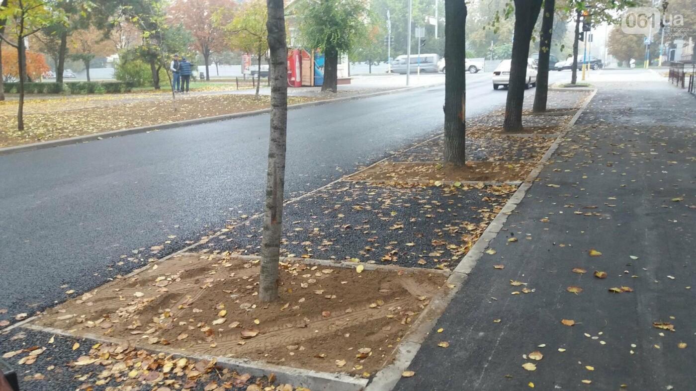 В Запорожье завершили реконструкцию улицы Южноукраинской: какие работы выполнили, – ФОТОРЕПОРТАЖ, фото-4