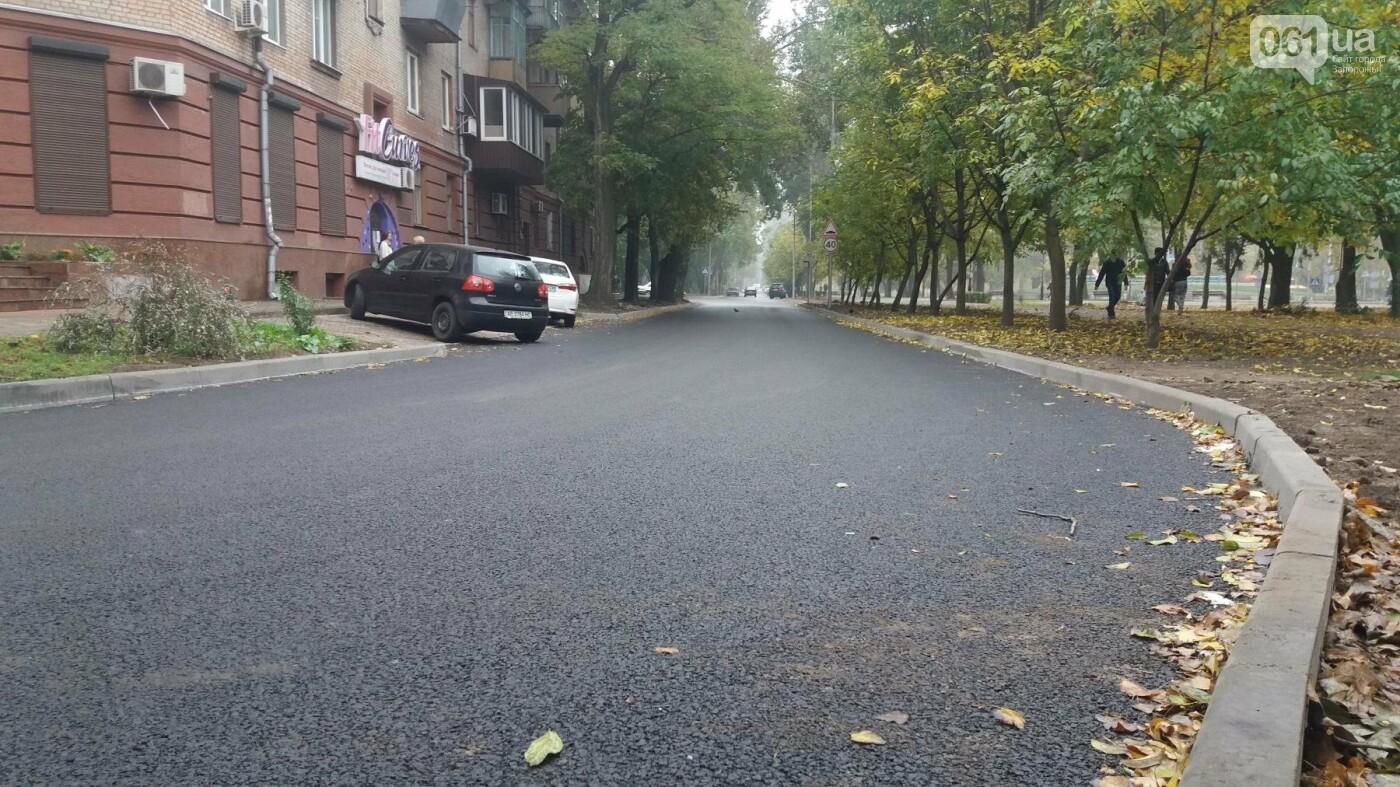 В Запорожье завершили реконструкцию улицы Южноукраинской: какие работы выполнили, – ФОТОРЕПОРТАЖ, фото-8