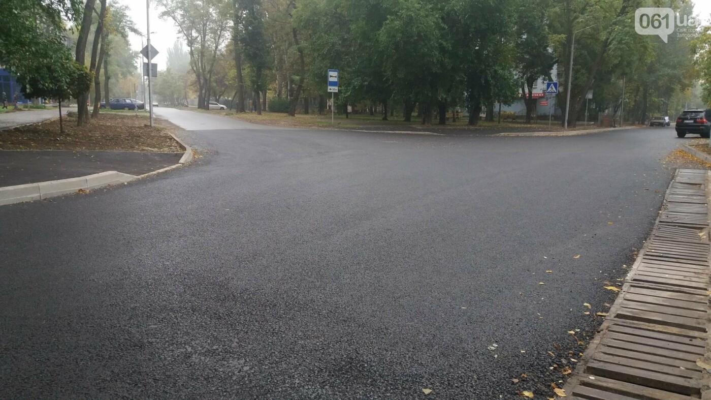 В Запорожье завершили реконструкцию улицы Южноукраинской: какие работы выполнили, – ФОТОРЕПОРТАЖ, фото-7