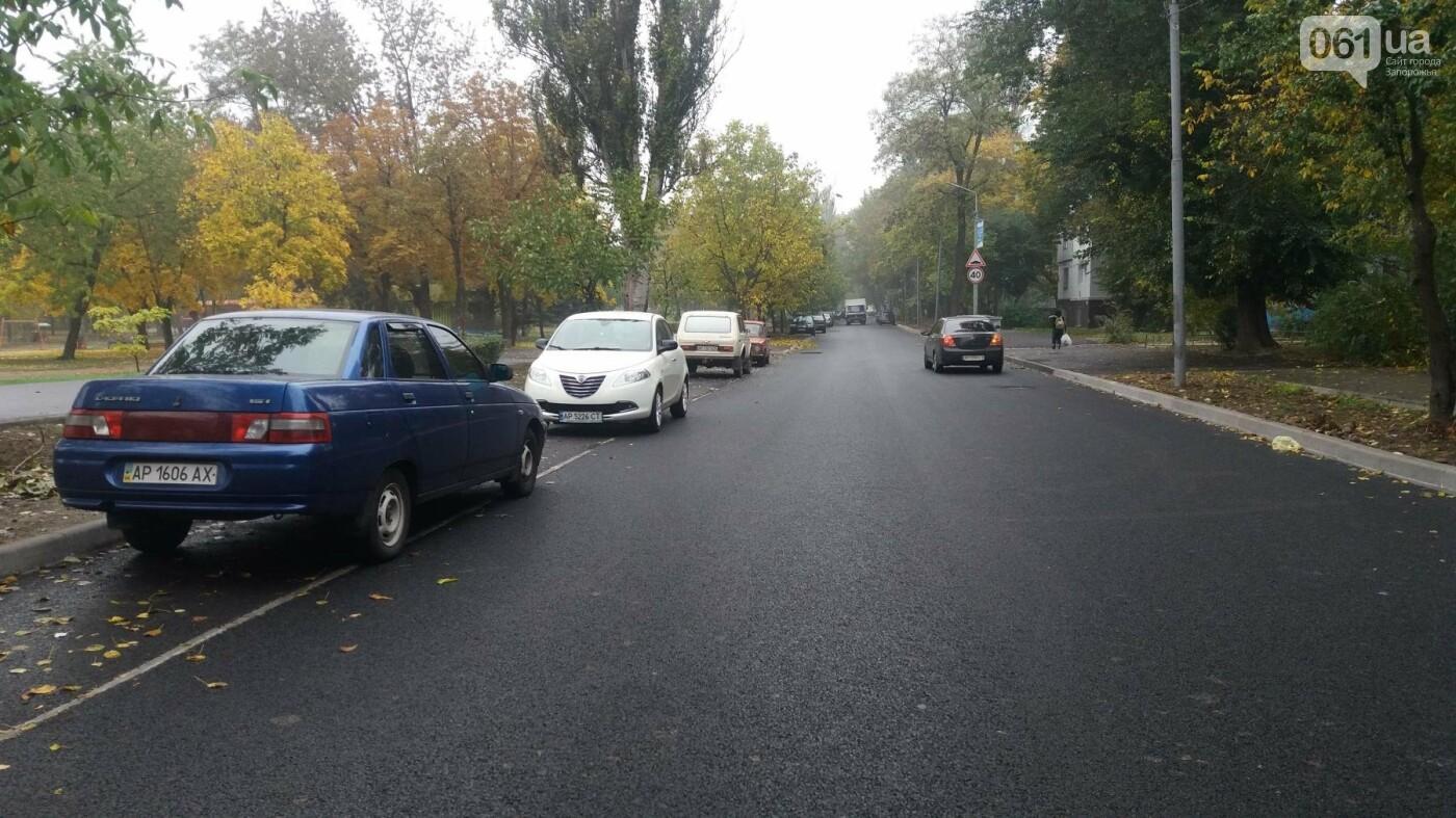 В Запорожье завершили реконструкцию улицы Южноукраинской: какие работы выполнили, – ФОТОРЕПОРТАЖ, фото-15