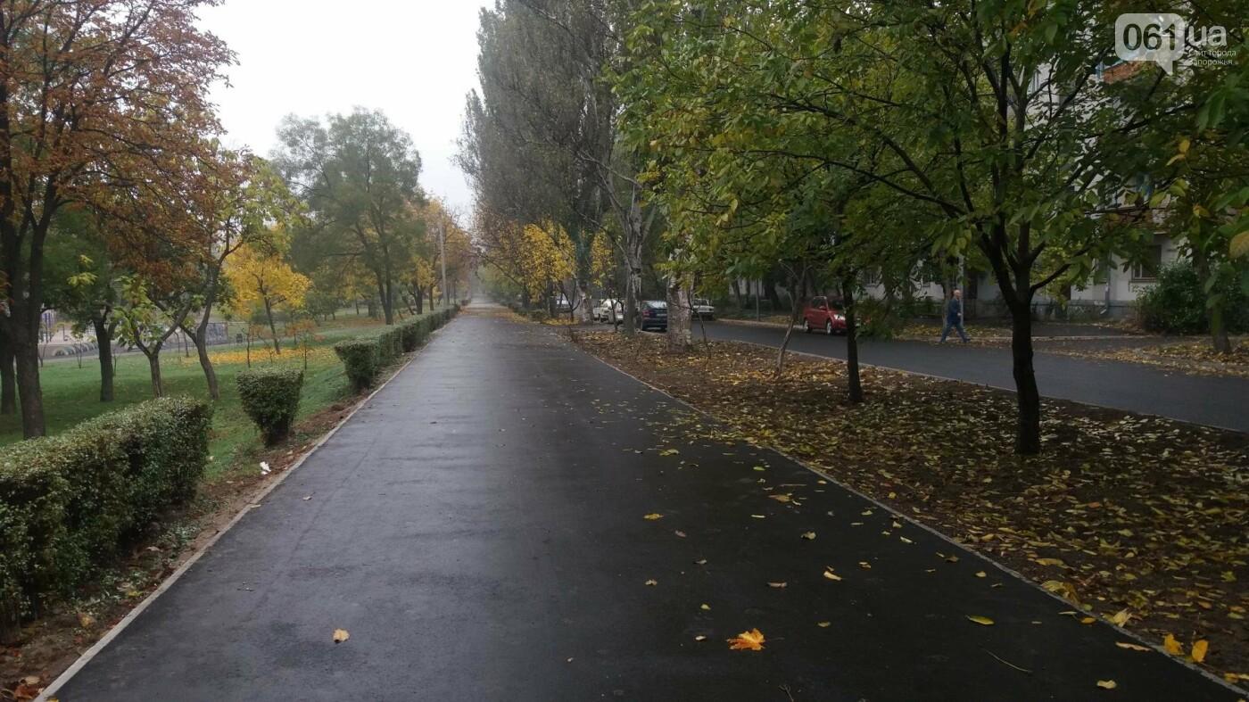 В Запорожье завершили реконструкцию улицы Южноукраинской: какие работы выполнили, – ФОТОРЕПОРТАЖ, фото-14