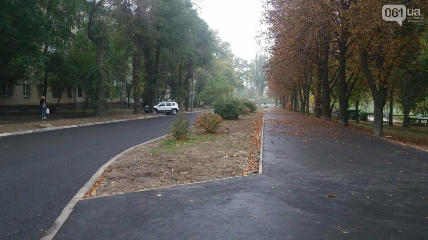 В Запорожье завершили реконструкцию улицы Южноукраинской: какие работы выполнили, – ФОТОРЕПОРТАЖ, фото-16