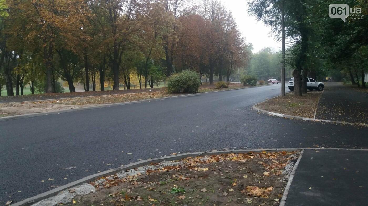 В Запорожье завершили реконструкцию улицы Южноукраинской: какие работы выполнили, – ФОТОРЕПОРТАЖ, фото-13