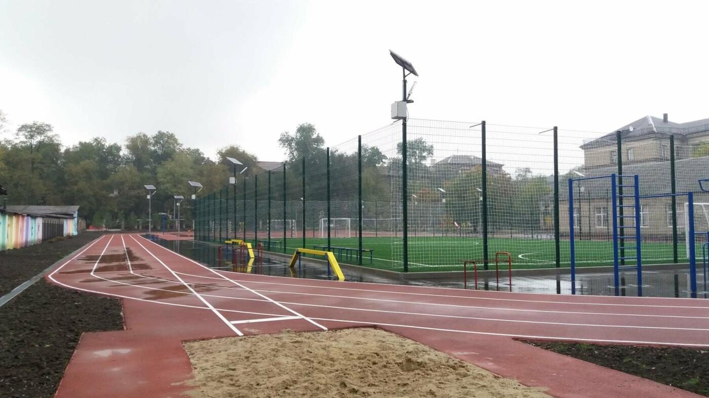 В Запорожье за 7 миллионов гривен отремонтировали школьную спортплощадку: что сделали подрядчики, – ФОТОРЕПОРТАЖ, фото-18
