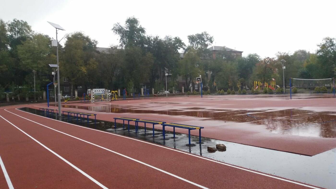 В Запорожье за 7 миллионов гривен отремонтировали школьную спортплощадку: что сделали подрядчики, – ФОТОРЕПОРТАЖ, фото-13