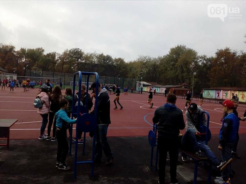 В Запорожье за 7 миллионов гривен отремонтировали школьную спортплощадку: что сделали подрядчики, – ФОТОРЕПОРТАЖ, фото-6