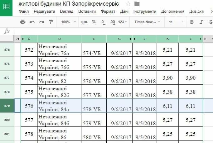 На запорожских домах появились объявления от обслуживающих компаний: в некоторых указан другой тариф, фото-2