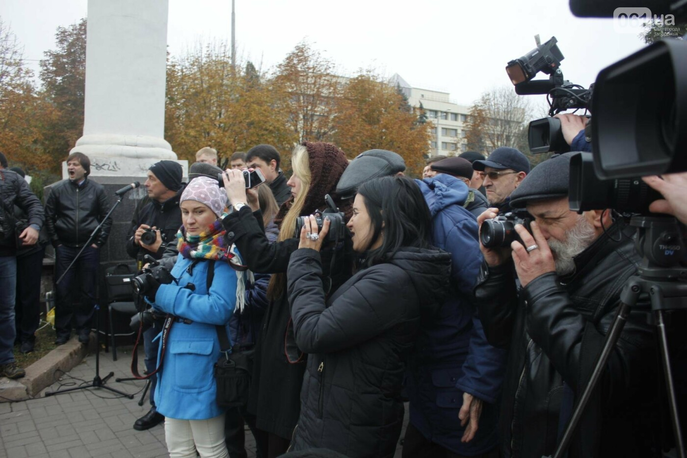 В Запорожье открыли памятник Леониду Жаботинскому, - ФОТОРЕПОРТАЖ, фото-9