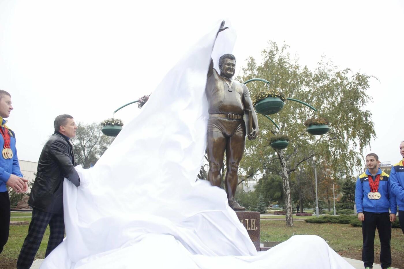 В Запорожье открыли памятник Леониду Жаботинскому, - ФОТОРЕПОРТАЖ, фото-6