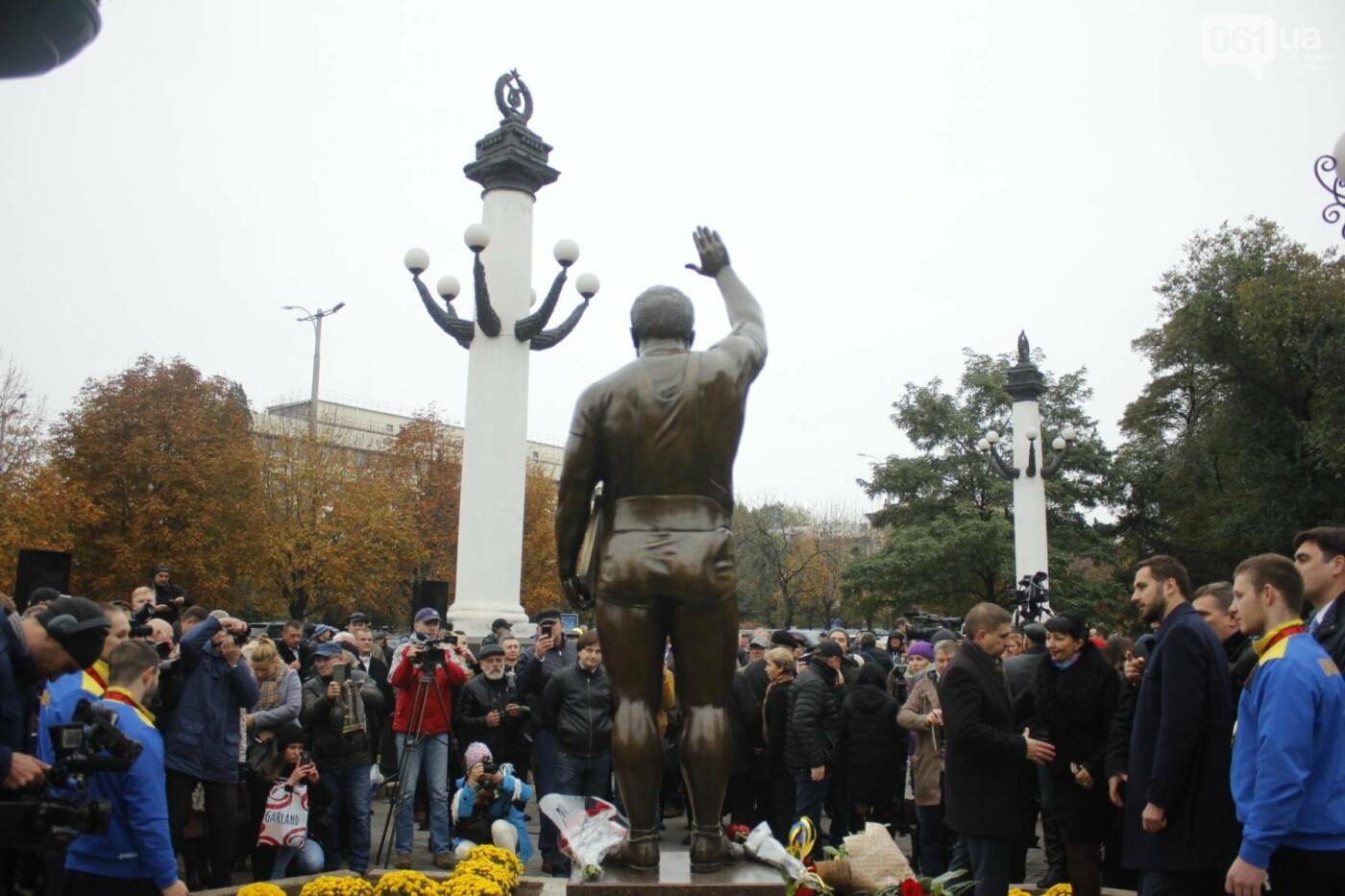 В Запорожье открыли памятник Леониду Жаботинскому, - ФОТОРЕПОРТАЖ, фото-11