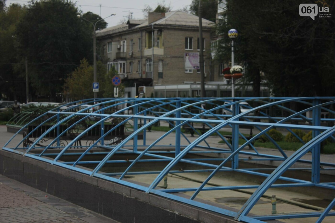 Зима близко: в Запорожье законсервировали фонтаны, - ФОТО , фото-3