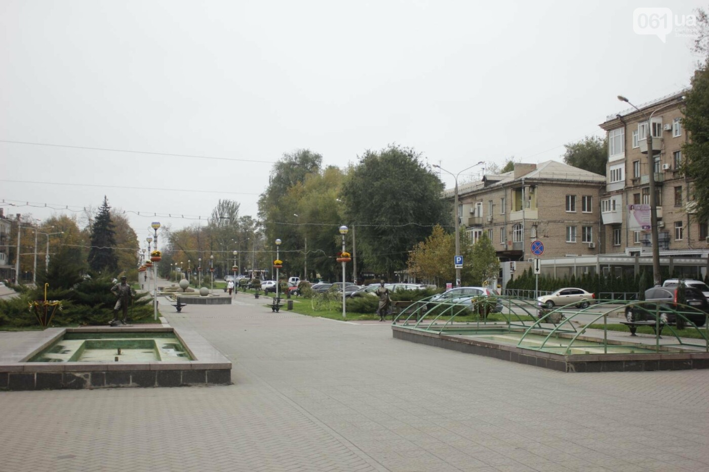 Зима близко: в Запорожье законсервировали фонтаны, - ФОТО , фото-4