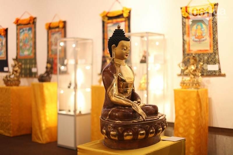 В Запорожье покажут произведения буддийского искусства из монастырей Индии и Тибета, фото-1