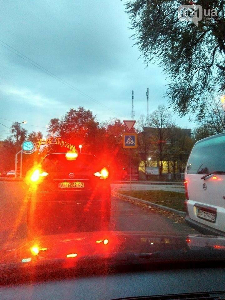 В центре Запорожья наконец появились необходимые дорожные знаки, - ФОТО, фото-1