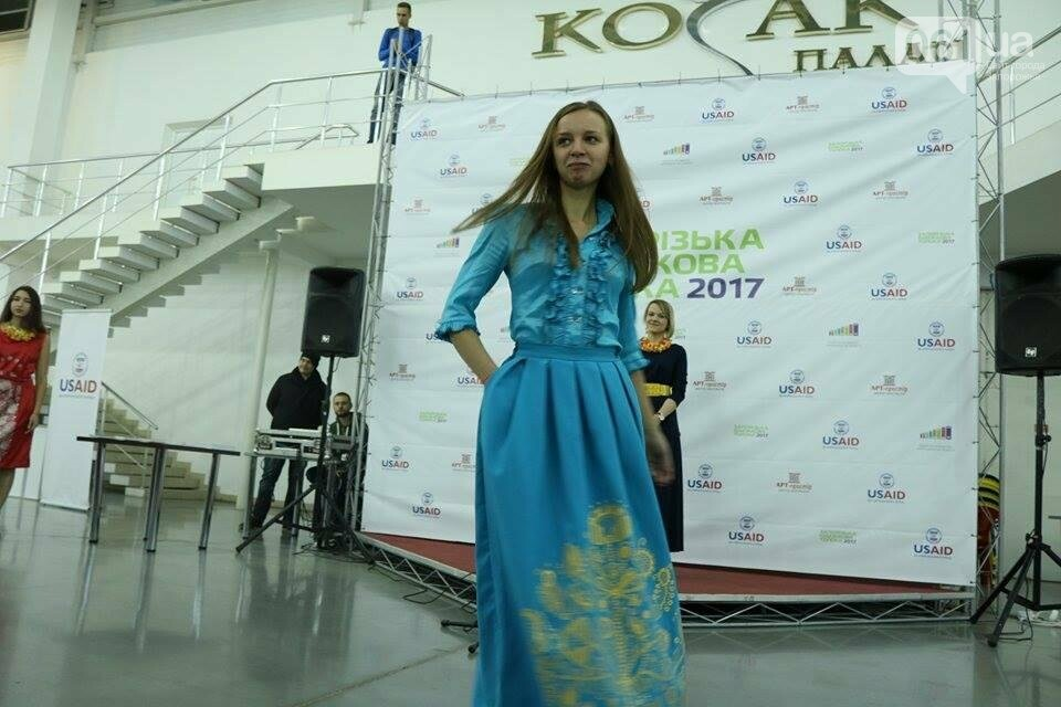 В Запорожье прошел показ авторских платьев, расписанных вручную, - ФОТОРЕПОРТАЖ , фото-13