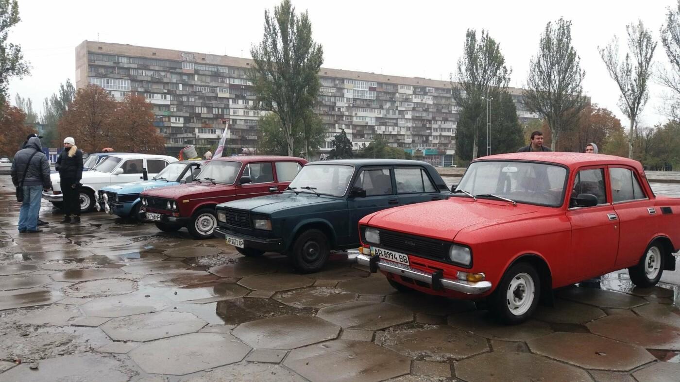 Плохая погода не позволила провести в Запорожье выставку ретро-автомобилей, – ФОТОРЕПОРТАЖ  , фото-1