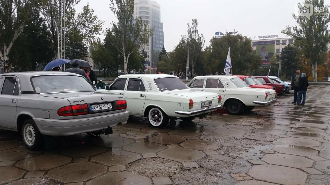 Плохая погода не позволила провести в Запорожье выставку ретро-автомобилей, – ФОТОРЕПОРТАЖ  , фото-5