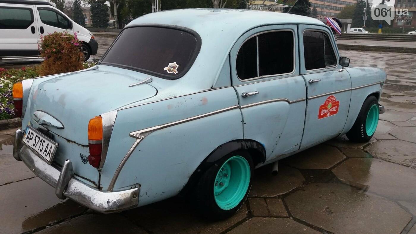Плохая погода не позволила провести в Запорожье выставку ретро-автомобилей, – ФОТОРЕПОРТАЖ  , фото-3