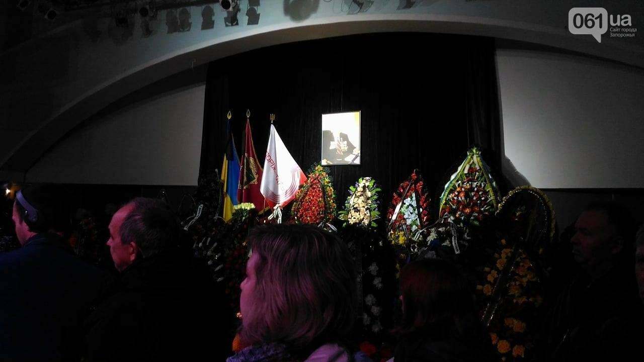 В ДК Металлургов прощаются с Сацким: из-за этого перекрыли дорогу, - ФОТО, фото-4