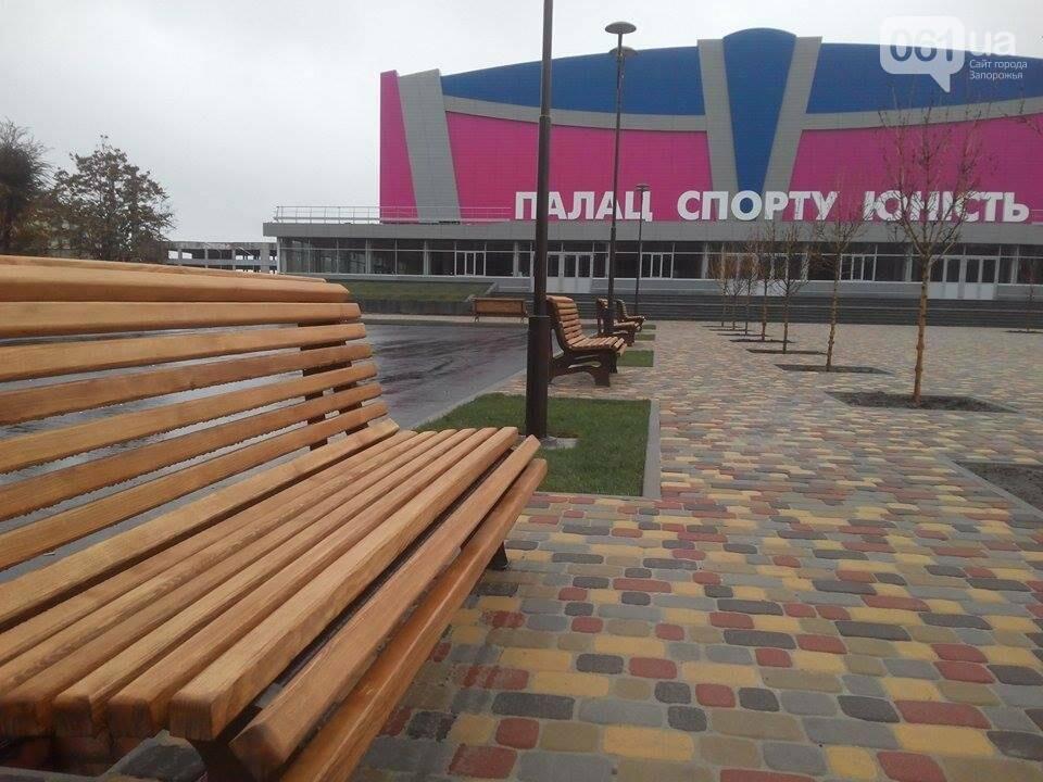 """Возле ДС """"Юность"""" установили 15 новых лавочек, - ФОТОФАКТ, фото-6"""