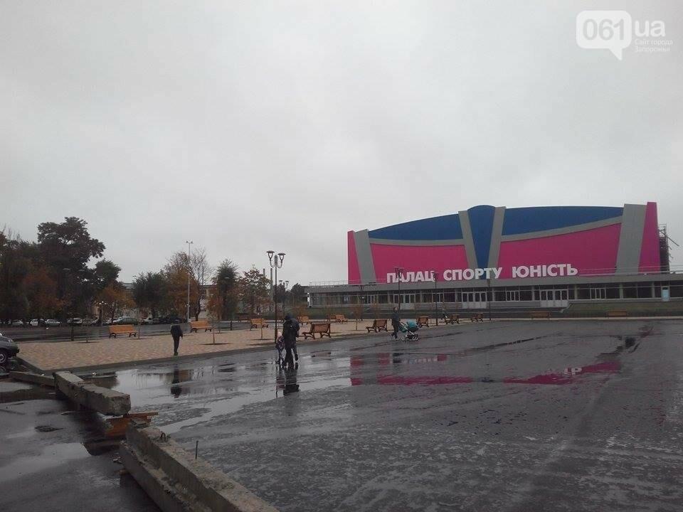 """Возле ДС """"Юность"""" установили 15 новых лавочек, - ФОТОФАКТ, фото-1"""