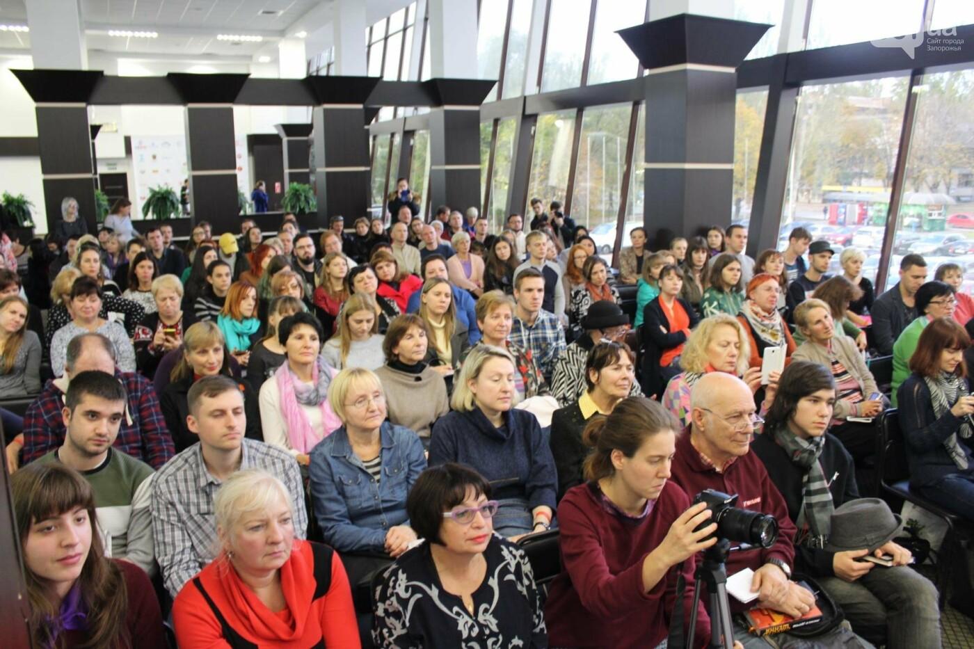Писатель Любко Дереш в Запорожье собрал аншлаг, - ФОТО , фото-10
