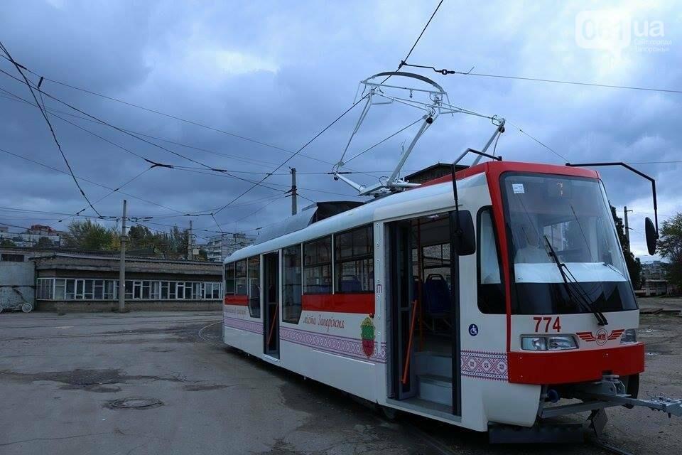 В Запорожье вышел на рельсы второй трамвай, собранный в Запорожье, - ФОТО, ВИДЕО, фото-3