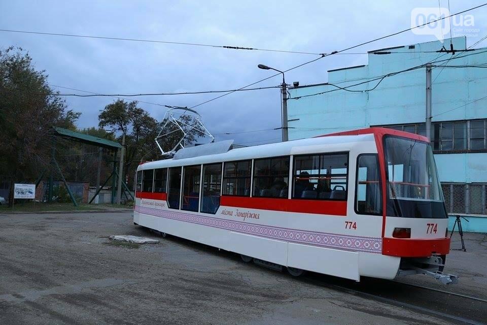 В Запорожье вышел на рельсы второй трамвай, собранный в Запорожье, - ФОТО, ВИДЕО, фото-10