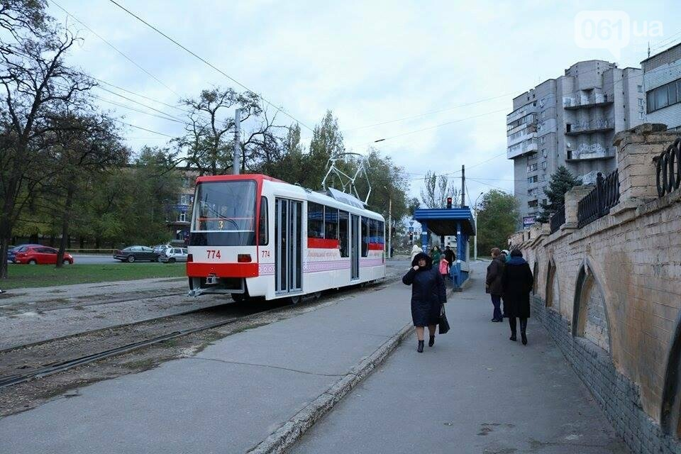 В Запорожье вышел на рельсы второй трамвай, собранный в Запорожье, - ФОТО, ВИДЕО, фото-12