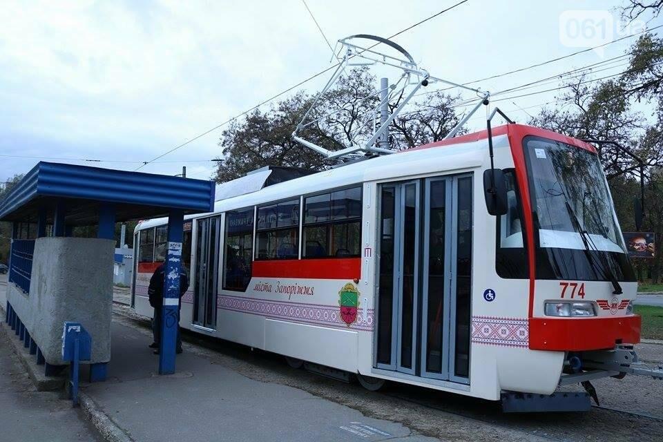 В Запорожье вышел на рельсы второй трамвай, собранный в Запорожье, - ФОТО, ВИДЕО, фото-14