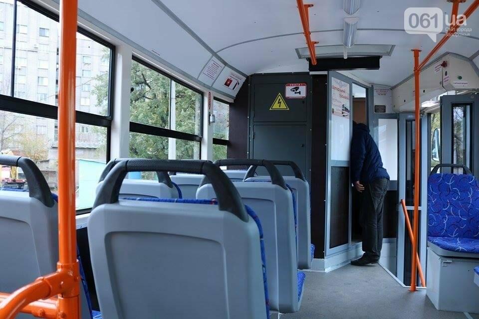 В Запорожье вышел на рельсы второй трамвай, собранный в Запорожье, - ФОТО, ВИДЕО, фото-5