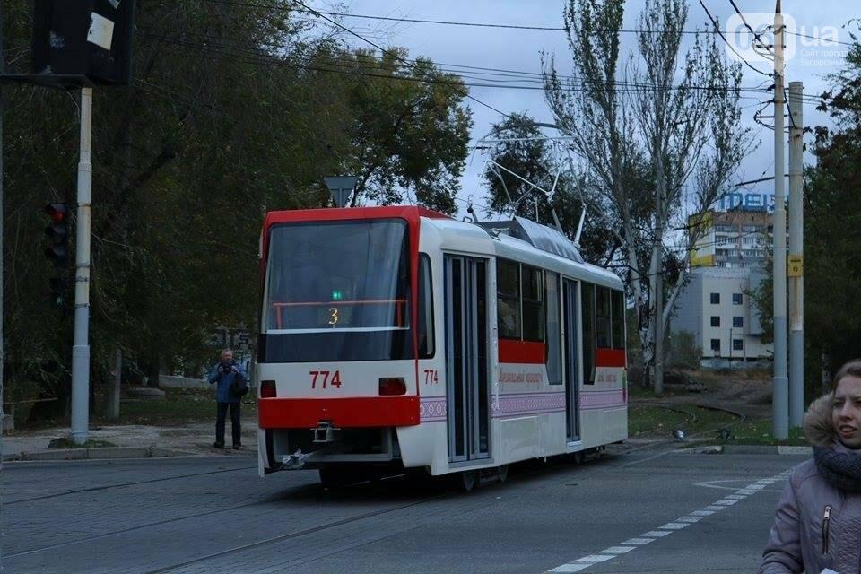 В Запорожье вышел на рельсы второй трамвай, собранный в Запорожье, - ФОТО, ВИДЕО, фото-15