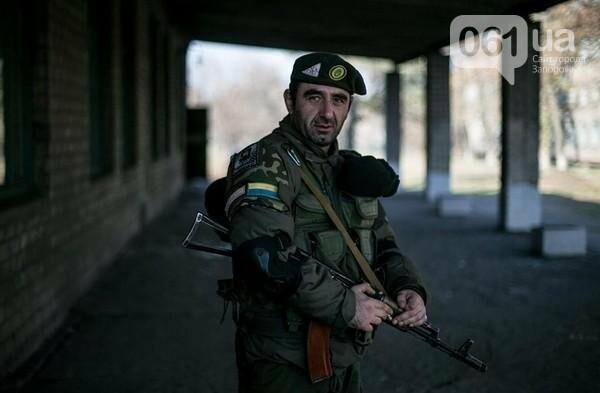"""В центре Запорожья простятся с грузинским добровольцем """"Гюрзой"""", фото-1"""