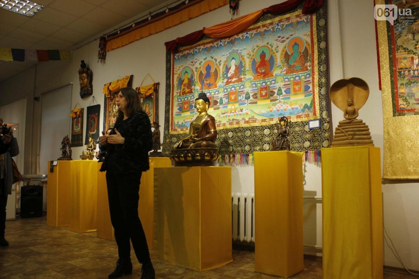 """В Запорожье выставка """"Сокровища Тибета"""" открыла Дни буддийской культуры, - ФОТОРЕПОРТАЖ, фото-3"""