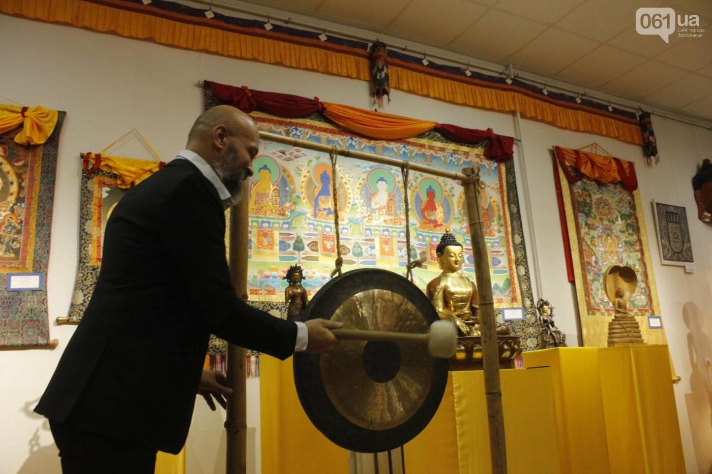 """В Запорожье выставка """"Сокровища Тибета"""" открыла Дни буддийской культуры, - ФОТОРЕПОРТАЖ, фото-19"""