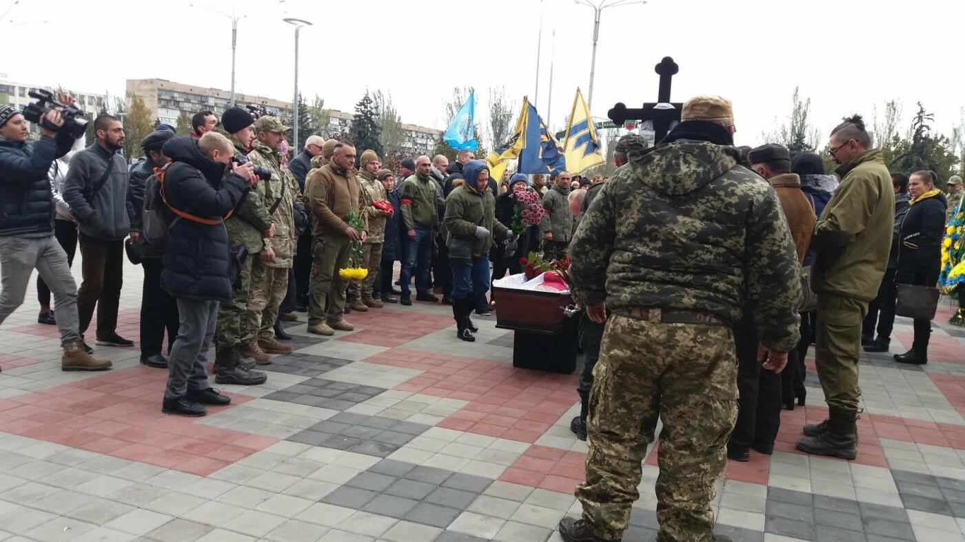 В Запорожье простились с грузинским добровольцем, погибшим в АТО, — ФОТОРЕПОРТАЖ, фото-5