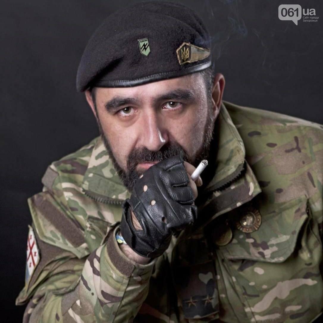 В Запорожье простились с грузинским добровольцем, погибшим в АТО, — ФОТОРЕПОРТАЖ, фото-1