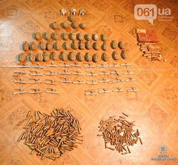 40 гранат и 2 кг тротила: в Запорожской области нашли склад боеприпасов, - ФОТО , фото-5