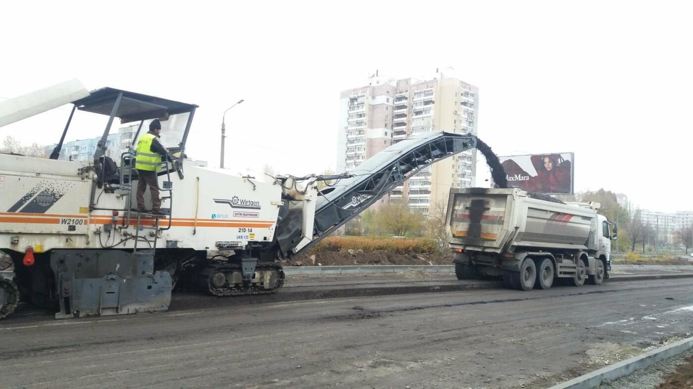 В Запорожье на Набережной открыли движение по отремонтированной дороге: строительные работы продолжаются, — ФОТОРЕПОРТАЖ, фото-3