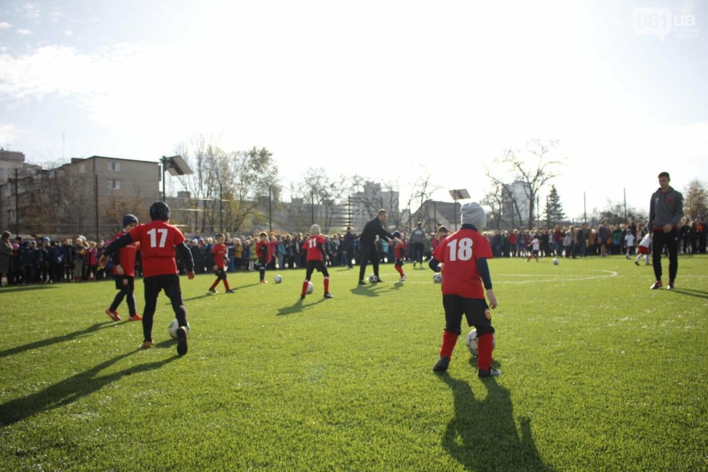 В Бородинском микрорайоне открыли школьный стадион: как это выглядит, - ФОТОРЕПОРТАЖ, фото-18