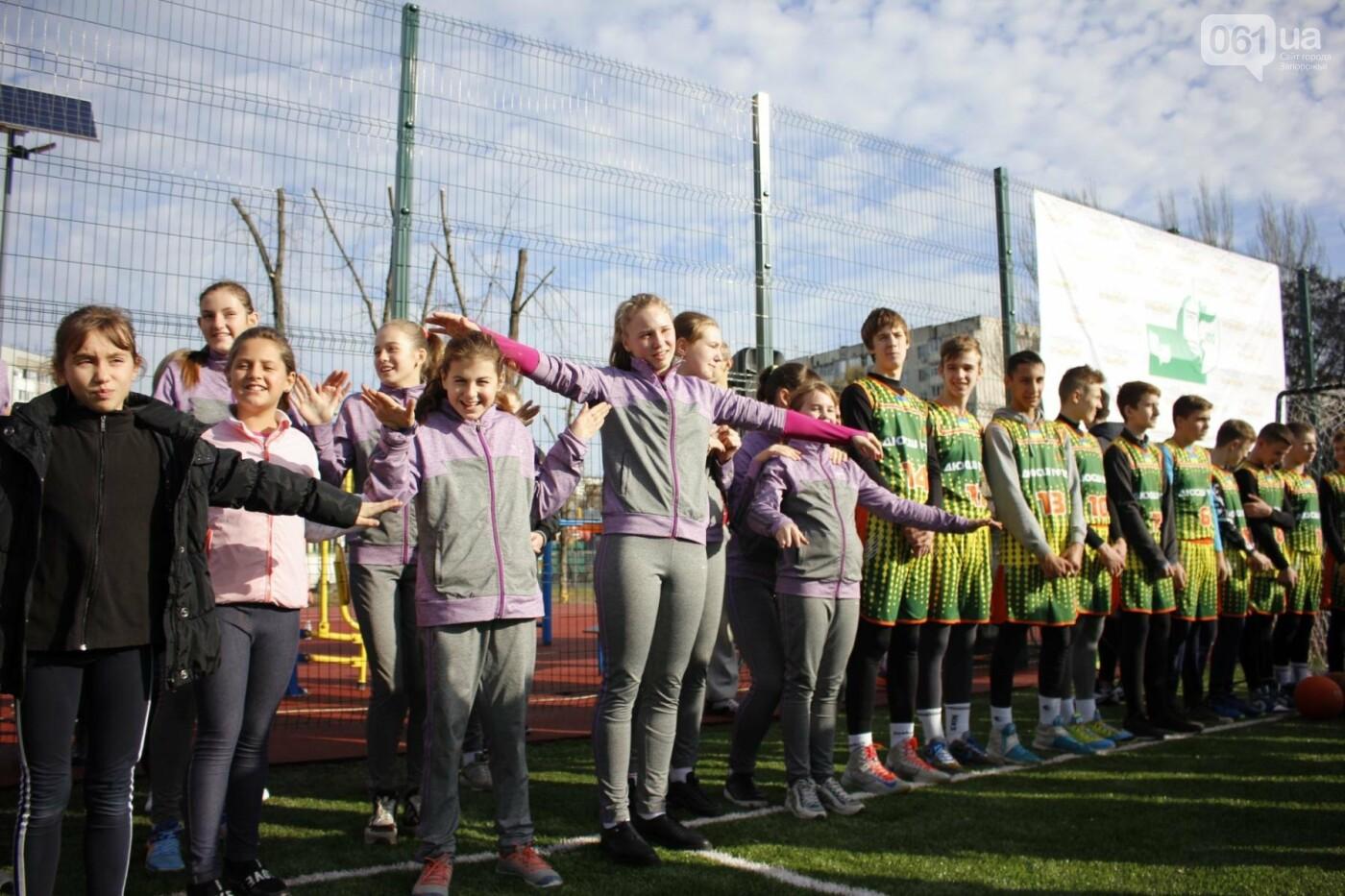 В Бородинском микрорайоне открыли школьный стадион: как это выглядит, - ФОТОРЕПОРТАЖ, фото-5